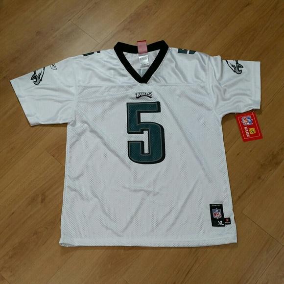 d2f8a3ae62b Reebok Shirts & Tops | Boys Philadelphia Eagles Jersey 5 Mcnabb ...